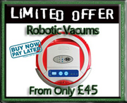 Robotic Vacuum SALE from £45